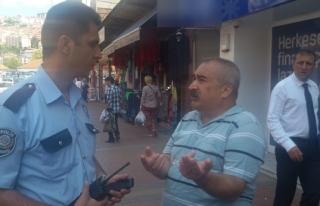 """Polise inanmadı, """"Komiser Murat ile görüşüyorum""""..."""