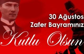 """""""30 Ağustos zafer bayramını kutladı"""