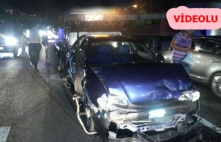 Hasta getiren ambulans yayaya çarptı: 5 yaralı