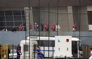 Maç öncesinde olaylar çıktı, Zonguldak Kömürspor...