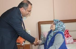 Zonguldakta protokol bayramlaştı