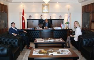 Tmmob gıda mühendislerinden rektör Özer'e ziyaret