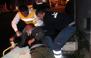 Yaralı şahsı hastane hastane dolaştırdılar