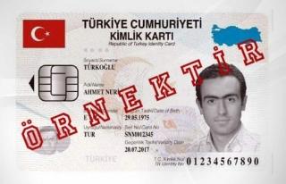 Türkiye pembe ve mavi nüfus cüzdanlarına veda...