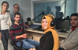 Altındağ, Radyo Karaelmas´a konuk oldu