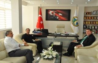Recep Erkılıç'tan, Başkan Tekin'e ziyaret