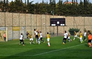 Zonguldak Kömürspor galibiyeti kaçırdı
