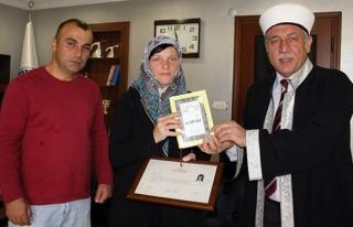 Türk gencine aşık olan Rus gelin Müslüman oldu