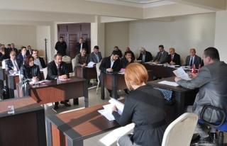Alaplı belediye meclisi'nin ilk oturum tamamlandı