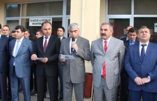 Gmis yönetimi Armutçuk'ta madenciyi ziyaret etti