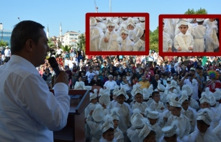 Ereğli Belediyesi 134 çocuğu mutlu etti