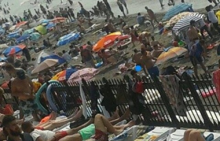 Vatandaşın tercihi Belediye plajı oldu