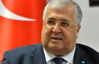 DSP  Genel Başkanı Türker veda etti