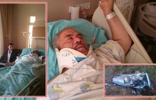 MHP Belde Başkanı Semiz´in, Babası Kaza yaptı