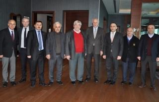 Halim Mete´den ZTSO Yönetim Kurulu Başkanı...