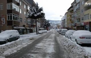 Valilikten kar yağışı uyarısı