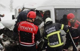 Zonguldak-İstanbul karayolunda trafik kazası: 11...