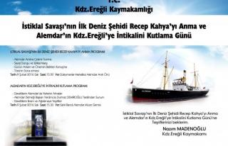 Recep Kahya ve Alemdar için Tören düzenlenecek