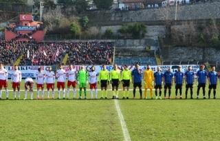Kömürspor, kendi sahasında BB Erzurumspor'u mağlup...