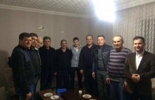 CHP'den Gazi  Özgür Öztürk´e ziyaret