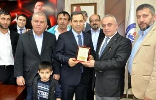 THK´den Kdz Ereğli Belediye Başkanı´na...