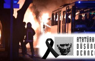 Alaplı ADD Terör saldırılarını kınadı