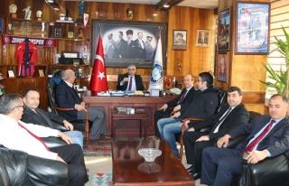Türk Ocakları Zonguldak Şubesinden GMİS'e ziyaret