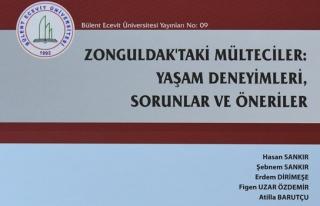 BEÜ Zonguldak'taki mülteciler üzerine yapılan...