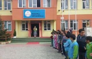 Öğrencilerden yangın ve deprem tatbikatı