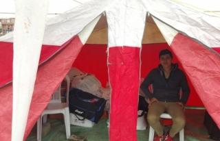 Bayırbucak Türkmenleri için Alaplı´da çadır...