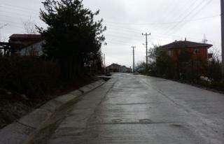 Kepez Dağ evlerine su kanalı