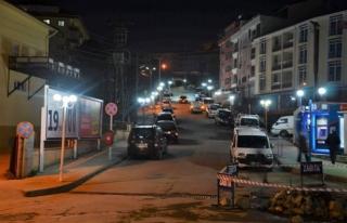 Alaplı'da caddeler aydınlanıyor