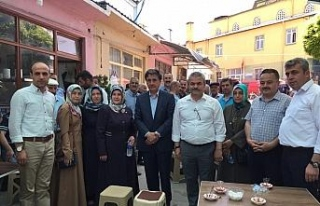AK Partili vekiller teşekkür ziyaretlerine başladı