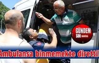Ambulansa binmemekte diretti!
