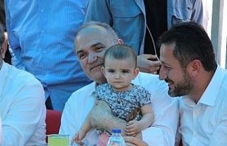 """Bakan Özlü: """"Cumhuriyet tarihinin en yüksek..."""