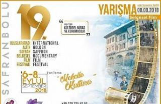"""""""Uluslararası Altın Safran Belgesel Film Festivali''..."""