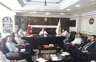 Haziran ayı ilçe müftüleri toplantısı yapıldı
