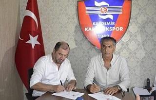 Karabükspor'un yeni Teknik Direktörü Fikret Yılmaz