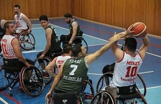 Tekerlekli Sandalye Basketbol Takımı dördüncü...
