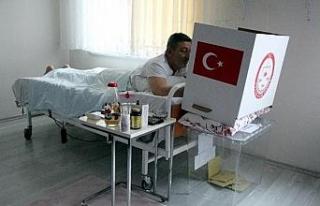Terör mağduru böyle oy kullandı
