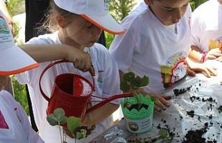 Yetenekli Çocuk Tarım Kampı Başlıyor