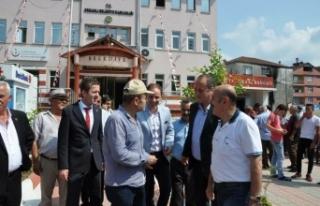 Yavuzyılmaz Ak Partili Başkanı ziyaret etti