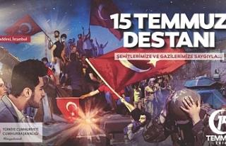 """""""15 Temmuz, Özgürlük Destanı"""" paneli!"""