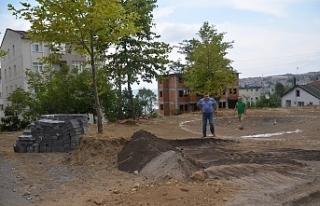 Aile Parkı çalışmaları başladı