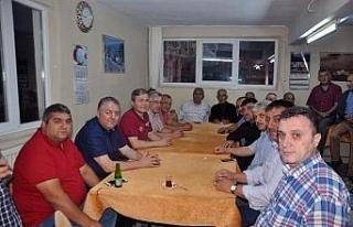 AK Parti Yenice teşkilatı toplantılarını köylerde...