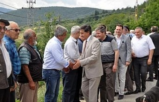 AK Partili vekillerden Yenice'ye Teşekkür Ziyareti