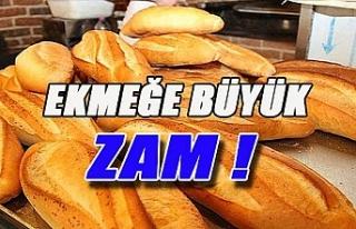 Ekmeğe büyük zam!..