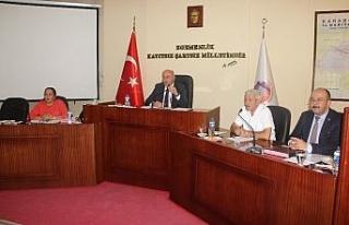 İl genel meclisi temmuz ayı toplantısı gerçekleştirildi