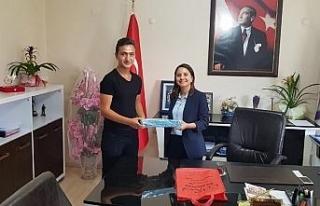 LGS birincisi'nden Turan'a ziyaret