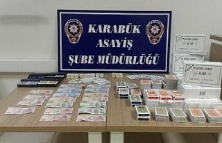 Polis elektriği kesip, kumar organizasyonunu deşifre...